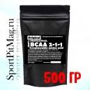 Купить BCAA 2-1-1 аминокислоты Wirud (БЦАА на развес) 500 гр