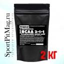 Купить BCAA 2-1-1 аминокислоты Wirud (БЦАА на развес) 2 кг