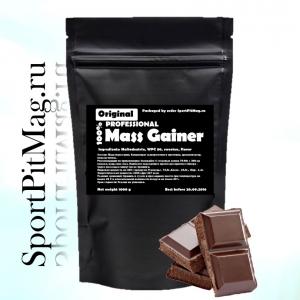 "Масс гейнер ""Mass Gainer Professional"" 1000 г. Шоколад."