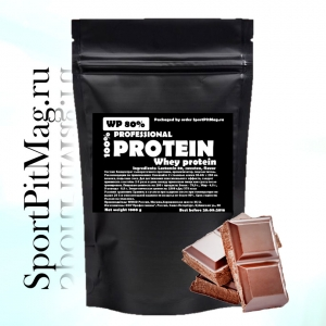 Professional Whey Protein Chocolate (Сывороточный протеин вкус Шоколад) 1 кг Пакет